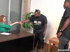 Kiki Daire is very interested in black men big cocks.