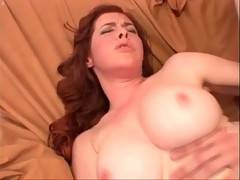 Awesome redhead milf loves to feel stiff dick inside her cunt.